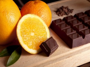 Chocolate y naranjas