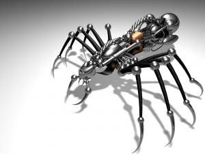 Postal: Araña robot