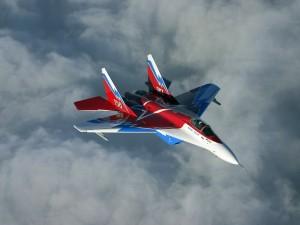 Postal: Avión ruso de combate MiG-29OVT