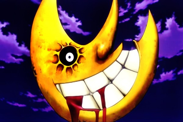 Luna sangrienta en la noche de Halloween