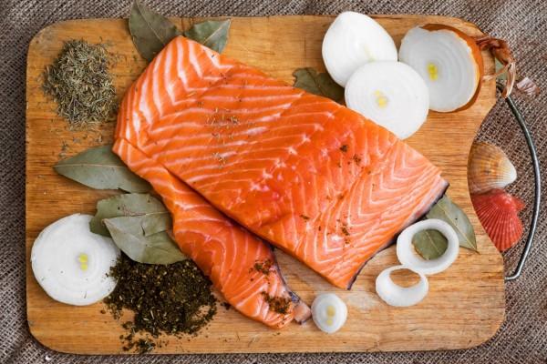 Lomo de salmón fresco