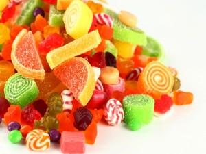 Montaña de caramelos
