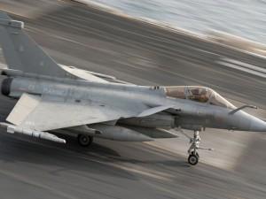 Postal: Dassault Rafale de la Marina Nacional Francesa