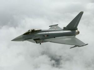 Postal: Eurofighter Typhoon de la Fuerza Aérea Austriaca