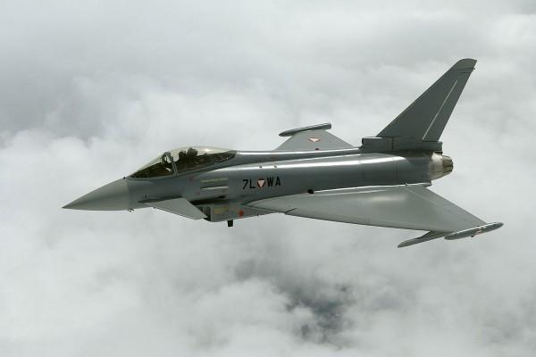 Eurofighter Typhoon de la Fuerza Aérea Austriaca