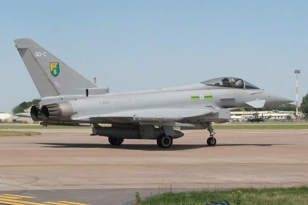 Eurofighter Typhoon británico