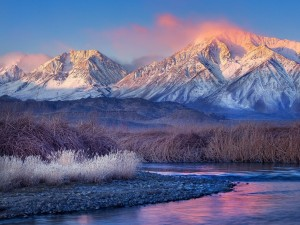 Postal: Colores invernales