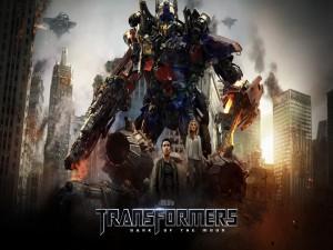 Postal: Transformers: El lado oscuro de la Luna