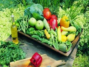 Verduras del huerto