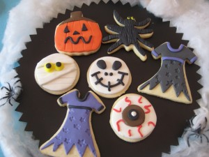 Monstruosas galletas para Halloween