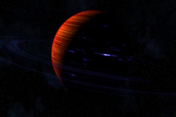 Planeta en alguna galxia