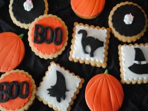 Postal: Ricas galletas para el día de Halloween