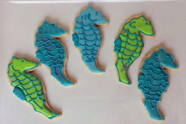 Galletas de caballitos de mar