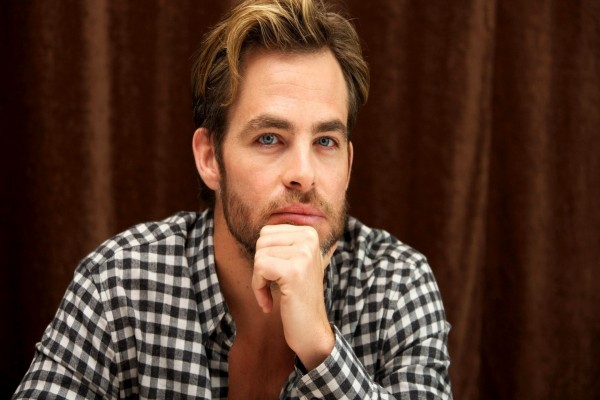 El famoso actor Chris Pine
