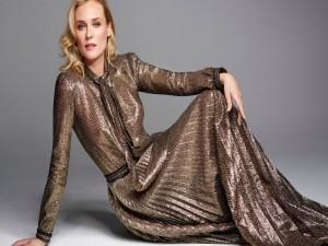 Postal: Diane Kruger, modelo y actriz alemana