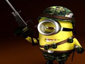 Postal: Minion soldado