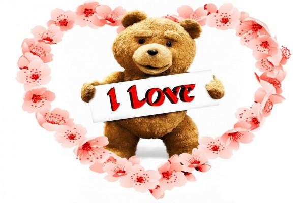 Ted demostrando su amor