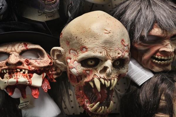 Máscaras para el día de Halloween