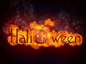 Halloween en llamas