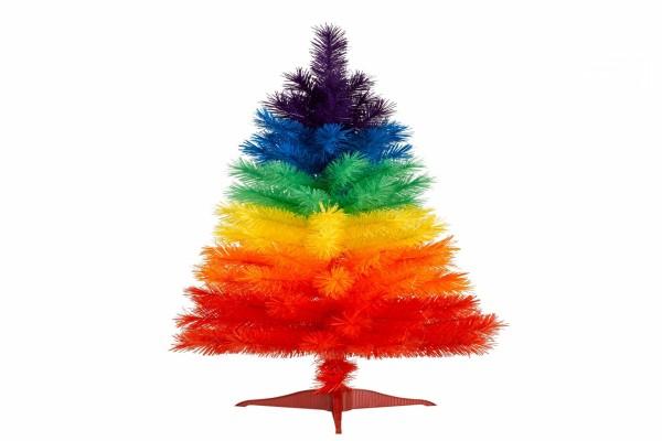 Abeto de Navidad de varios colores