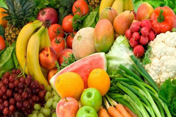 Exquisitas frutas y verduras