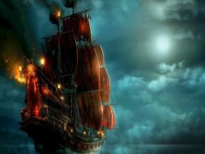 Postal: Navegando en la oscuridad