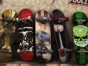 Postal: Modelos de tablas de skate