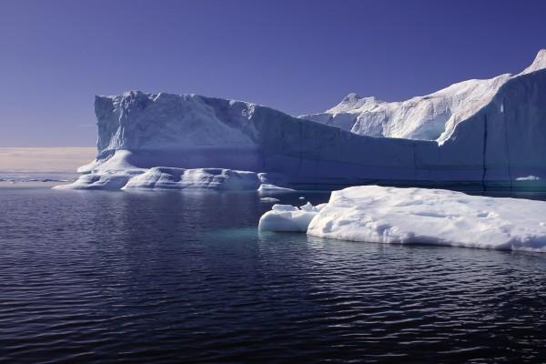 Témpanos de hielo o icebergs
