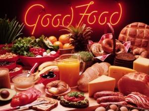 Postal: Buena comida