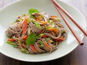 Postal: Noodles vegetarianos