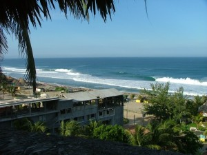 Postal: Espléndida vista de Puerto Escondido, México