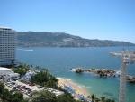 Bahía de Santa Lucía y playa La Condesa (Acapulco, México)
