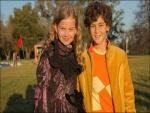 """Imagen de los dos niños protagonistas de """"El Inventor de Juegos"""""""