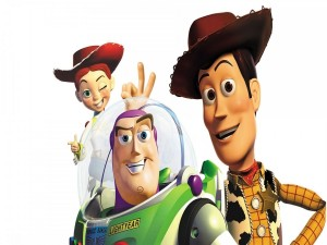 Woody, Jessy y Buzz (Toy Story)