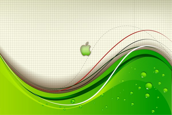 Original fondo de pantalla de Apple