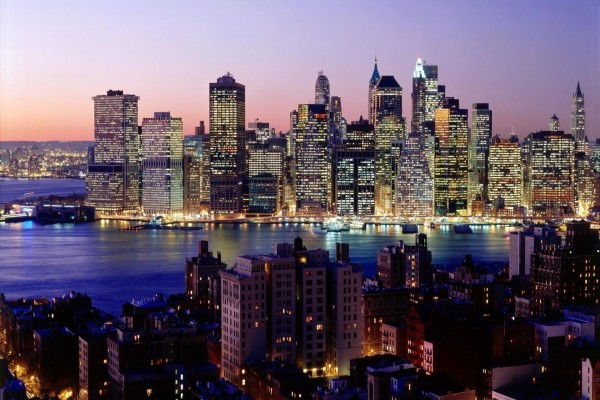 El centro de Manhattan visto desde Brooklyn