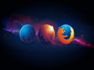 Postal: Planetas Firefox