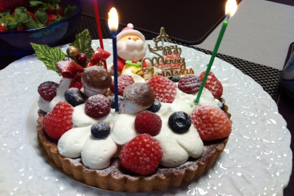 """Tarta """"Feliz Navidad"""""""