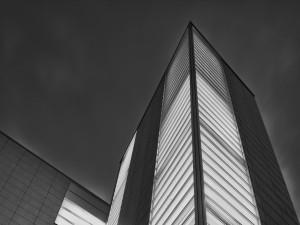 Postal: La fachada de un edificio