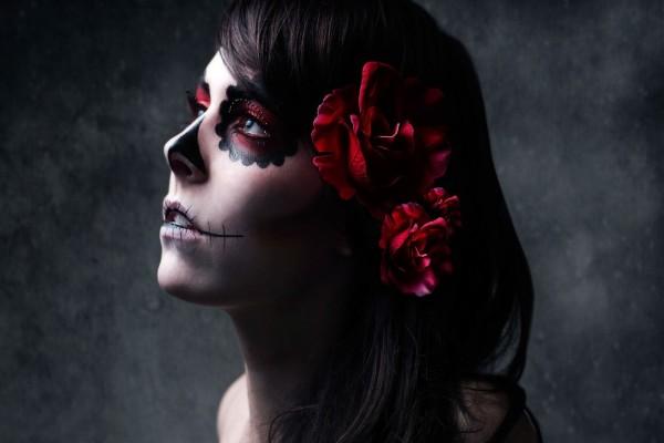 """Maquillaje para el """"Día de Muertos"""""""