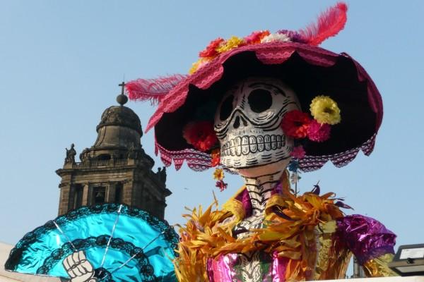 """La Catrina el """"Día de Muertos"""""""