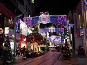 Navidad en Busan (Corea del Sur)