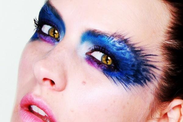 Original maquillaje de ojos