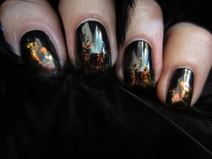 Uñas de bruja para Halloween