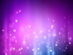 Destellos en un fondo purpura