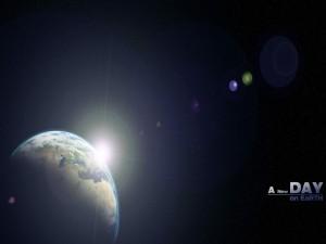 Un nuevo día en la Tierra
