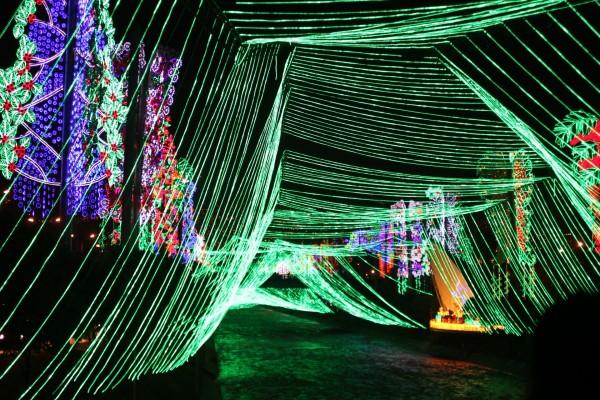 Luces de Navidad en Medellin