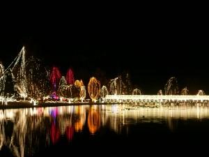 Postal: Luces de Navidad en Chickasha (Oklahoma)