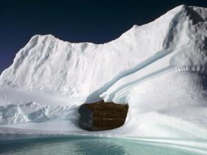 Agujero en un iceberg