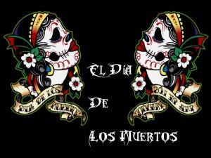 Postal: El Día de los Muertos (México)